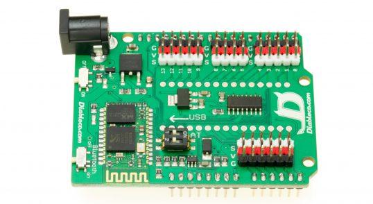 Placa base Arduino de la plataforma Furacos