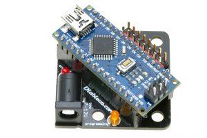 FuracosNano con el Arduino enchufado